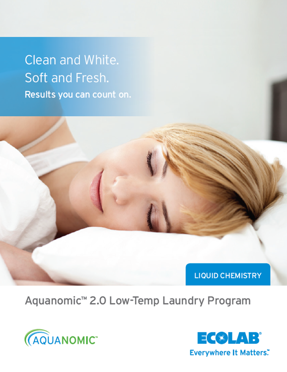 Aquanomic 20 Low Temp Liquid Laundry Clearly Soft Plus