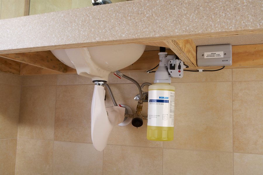 Counter Mount Touch Free Dispenser