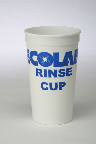 Ecolab Rinse Cup