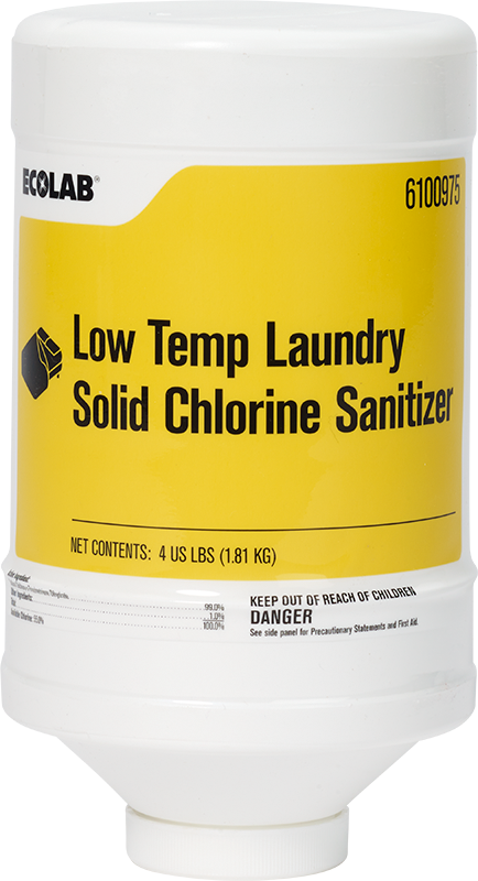 Low Temp Laundry Solid Chlorine Sanitizer