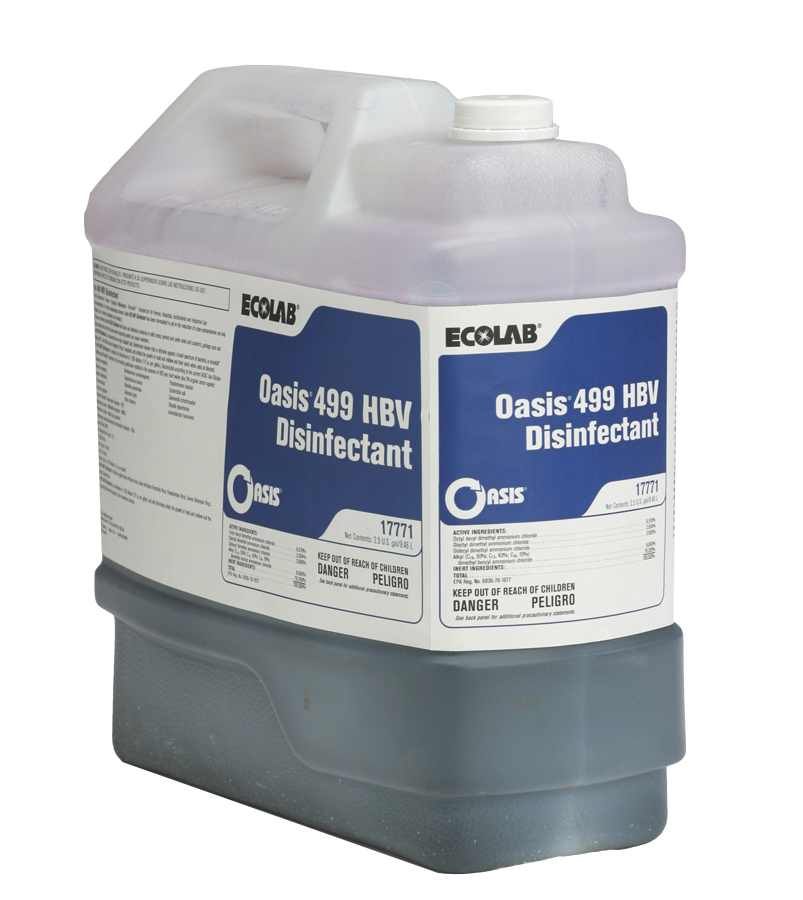 Oasis 499 HBV Disinfectant