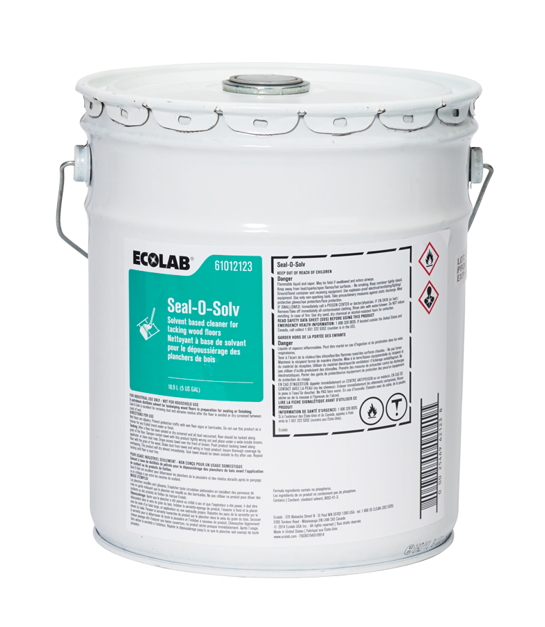Seal O Solv Solvent Based Cleaner